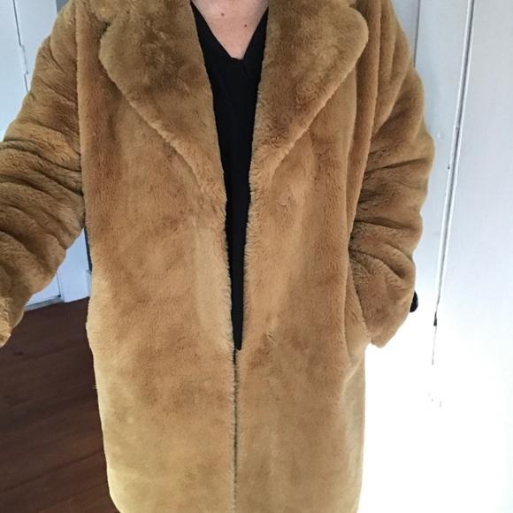 f132a7a2b Rino & Pelle Faux Fur Coat